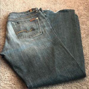 Men's 7  for all man kind Jeans